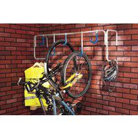 Muurhouder voor fietsen - 5 plaatsen