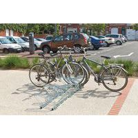 Steun voor fietsenrek - Kop aan kop
