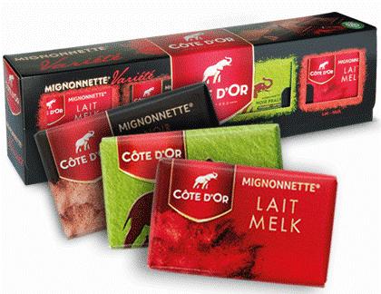 Côte d'Or chocolade!