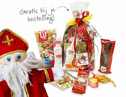 Zak vol lekkers van Sinterklaas