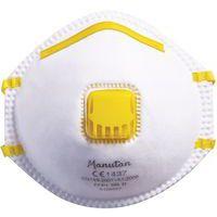 Demi-masque respiratoire coque à usage unique FFP1 - Manutan eaf5f5f50cbb