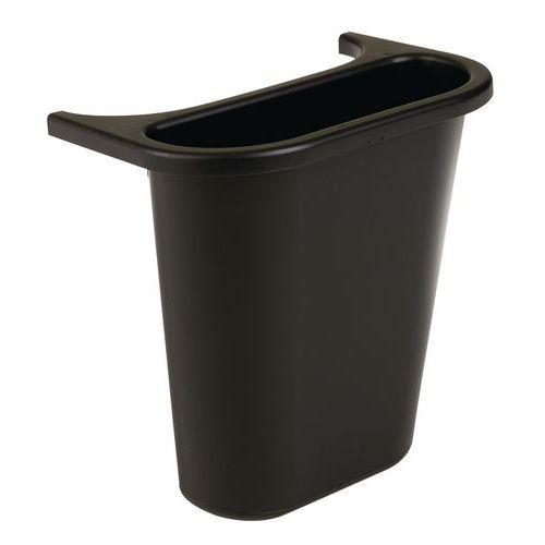 bac de tri pour poubelle rectangulaire rubbermaid 4 5 l. Black Bedroom Furniture Sets. Home Design Ideas