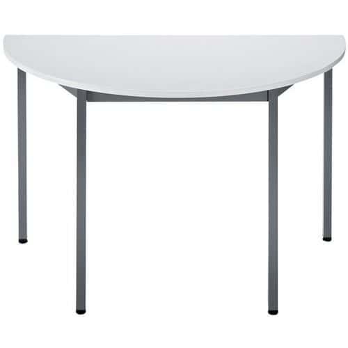 table de r union modulaire universelle demi cercle manutan. Black Bedroom Furniture Sets. Home Design Ideas