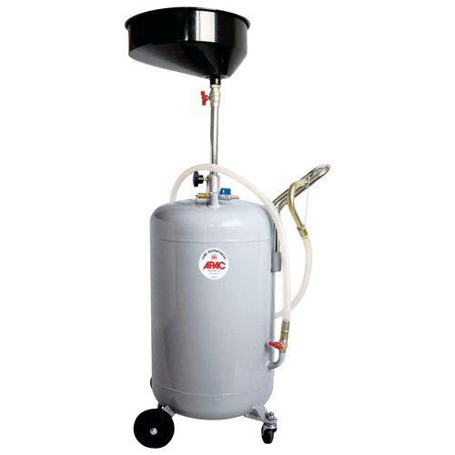 Récupérateur d'huile pneumatique - Capacité 80 L
