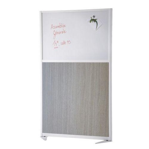 Scheidingswand Trendy - Half magnetisch paneel - Hoogte 170 cm