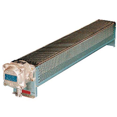 radiator elektrisch vast explosieveilig model atex