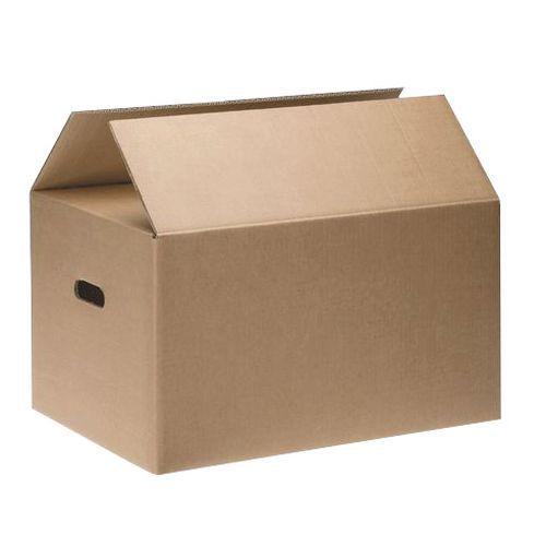 Verhuisdoos - Dubbellaags golfkarton - Met handgreep