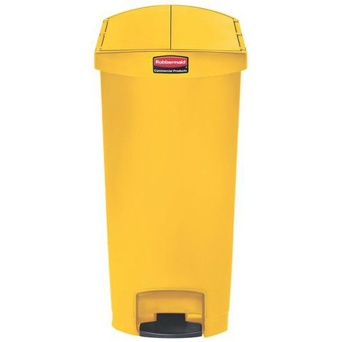 Kunststof afvalcontainer Rubbermaid 68 litres