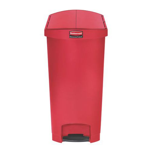 Kunststof afvalcontainer Rubbermaid 90 litres
