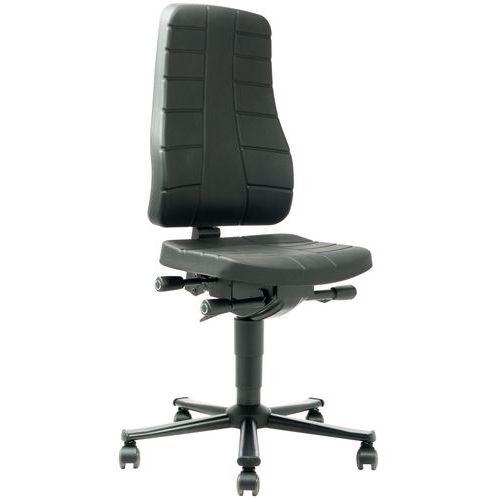 Ergonomische werkplaatsstoel All-in-One - Laag