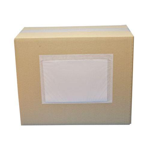 Pochette portedocuments  Plastique & papier  Neut