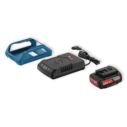 2 accu's Bosch GBA 18V 2Ah + lader GAL1830W