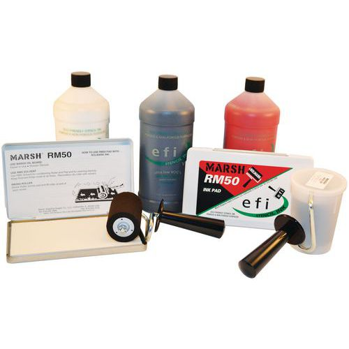 Efi-inkt zonder oplosmiddel - Set