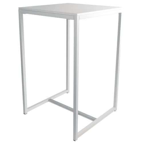 hoge tafel kubo - wit