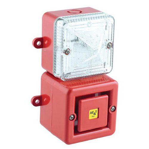Combinatie Tonaled met sirene 100 dB en LED-zwaailicht
