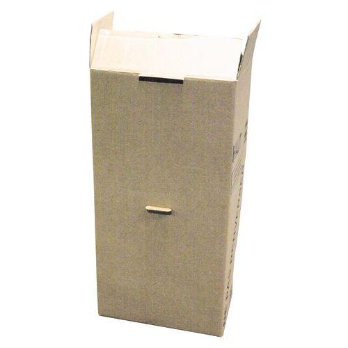 Amerikaanse kledinghangerdoos - Dubbellaags golfkarton