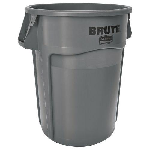 Ronde container Brute - grijs - 38 tot 208 l