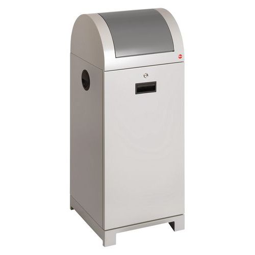 ProfiLine recycling afvalbak met afvalzakhouder 40 ltr tot 70 ltr - Hailo