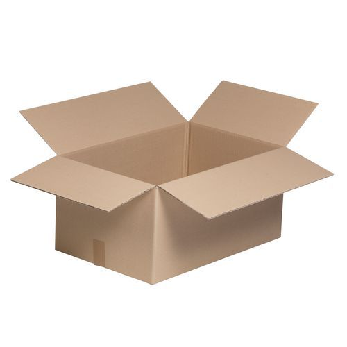 Caisse carton Éco - Simple cannelure - Petite cannelure