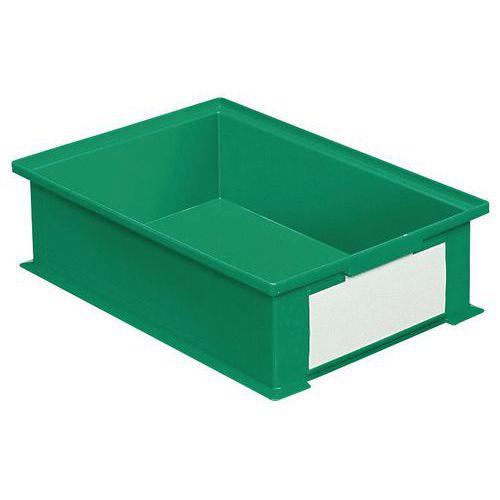 Bac gerbable - Vert - Longueur 200 à 630 mm - 3,6 à 85 L