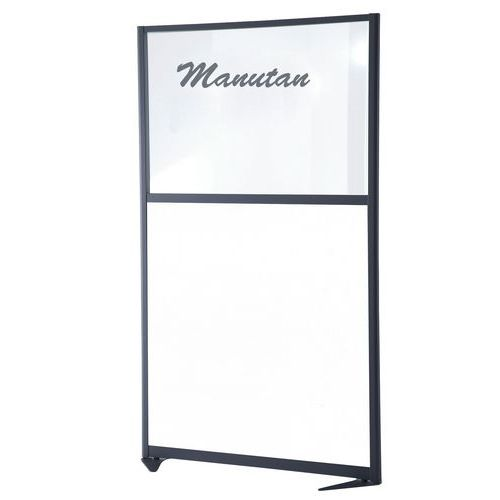 Cloison de séparation tendance - Panneau semi-tableau magnétique - Hauteur 150 cm
