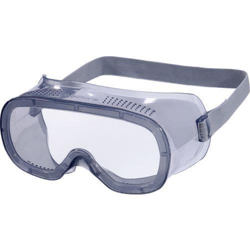 Maskerbril Kleurloos Polycarbonaat Directe Ventilatie