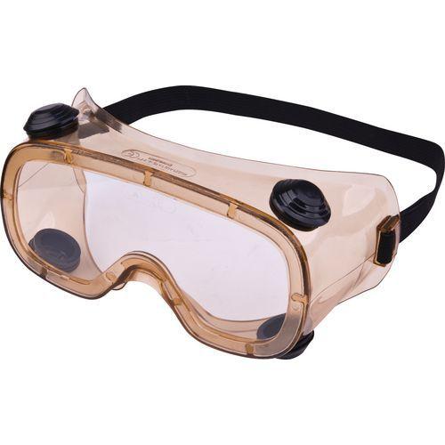 Maskerbril Kleurloos Polycarbonaat  - Indirecte Ventilatie
