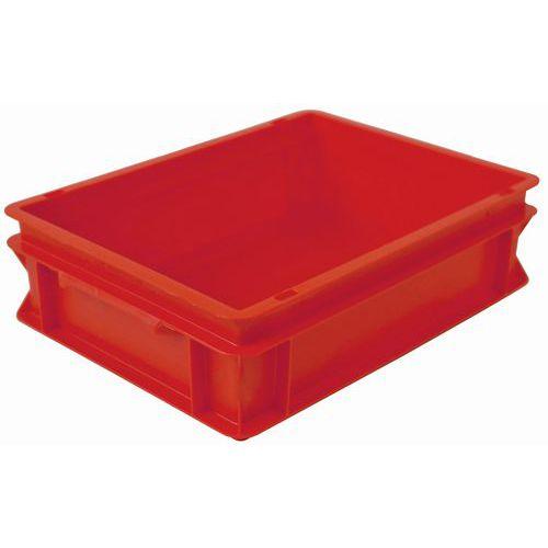 Bac gerbable norme Europe rouge RAKO - 10 et 21 L