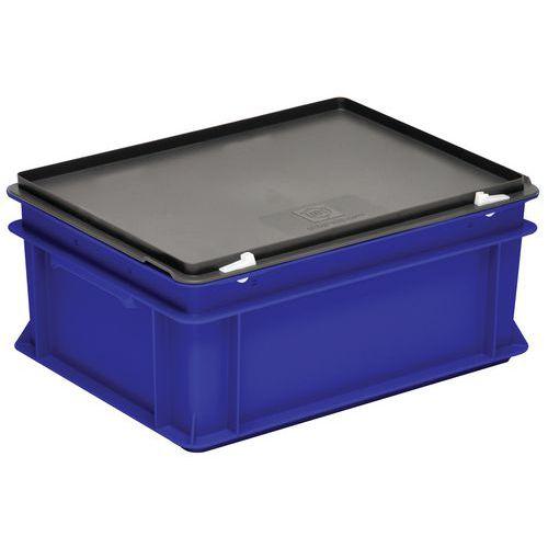 Bak met deksel Rako blauw - 300x200mm - 5 tot 60l
