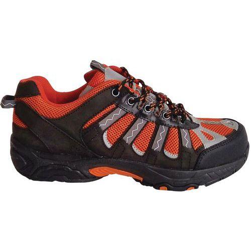 Chaussures de sécurité sport S1 P SRA noirorange Manutan