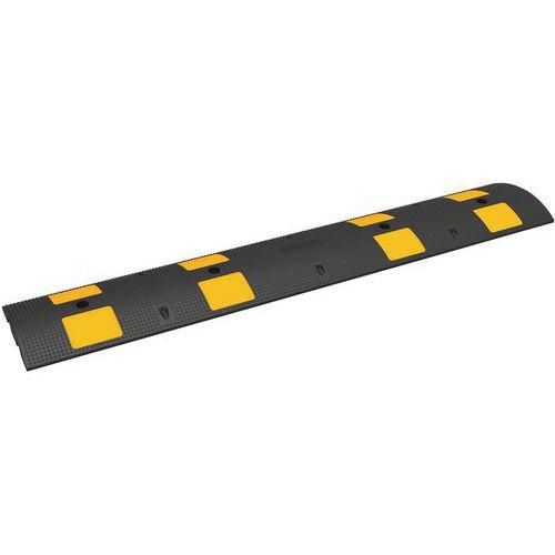 Verkeersdrempel, zwart met geel 10 km/h - 20 t - Manutan