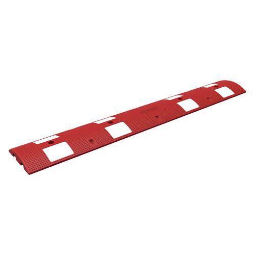 Verkeersdrempel, rood met wit 20 km/h - 20 t