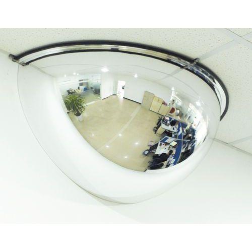 Miroir de sécurité 1/4 de sphère - Manutan