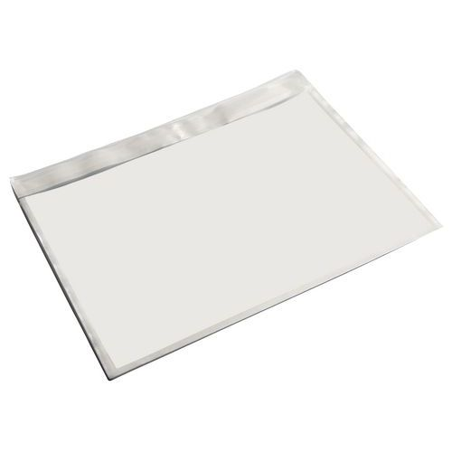 Pochette porte-documents - Kraft blanc - Sans impression