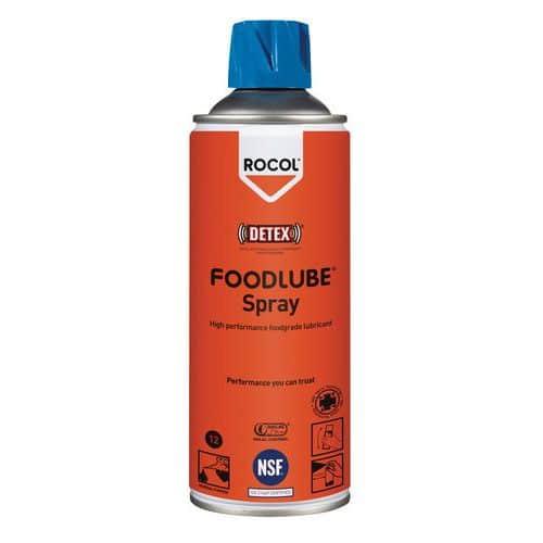Multifunctioneel smeermiddel voor voedingsmiddelenindustrie Rocol spuitbus