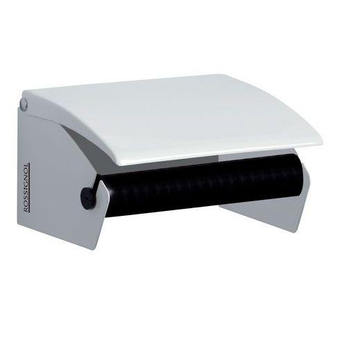 Dispenser van wit metaal