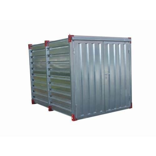 Opslagcontainer - Opvangvermogen 275 L - Opening smalle zijde