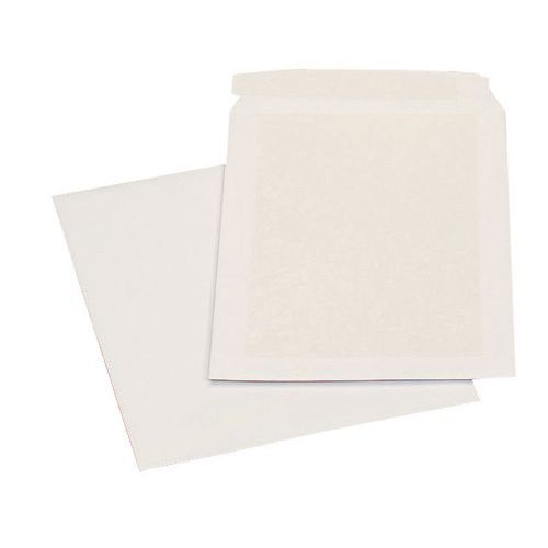 Pochette kraft armé - Coloris blanc