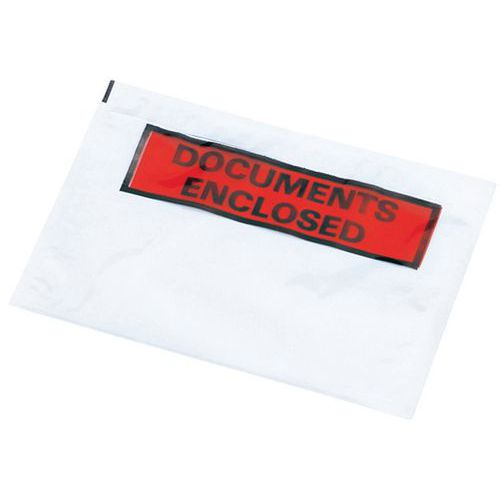 Paklijstenvelop - 'Documents enclosed'