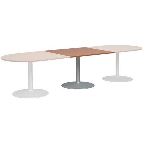 Extension Rectangulaire Pour Table Modulaire Ovale Pied Tulip