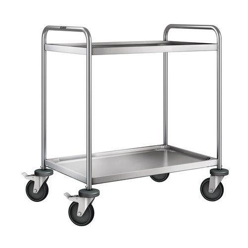 Serveerwagen - 2 legborden - Draagvermogen 120 kg