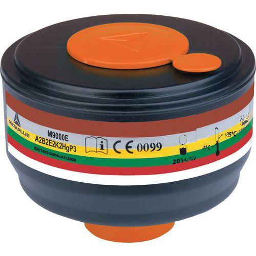 Dispenser met 4 Filterpatronen A2B2E2K2Hgp3