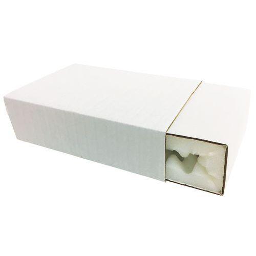 Étui-fourreau d'expédition - Intérieur mousse - Blanc