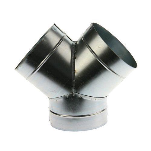 Dérivation à 45° pour gaines de ventilations rigides - Ø 80 à 125 mm
