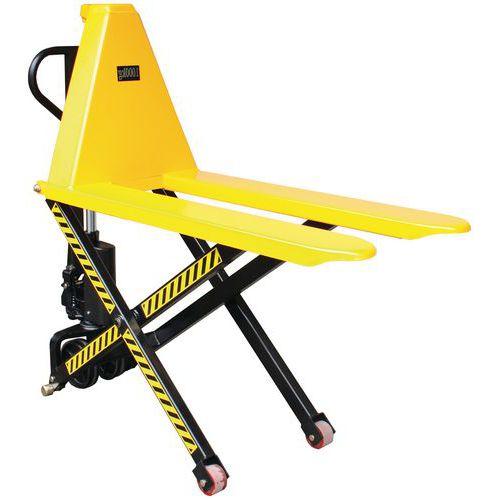 Hoogheffende pallettruck - draagvermogen 1000 kg - Manutan