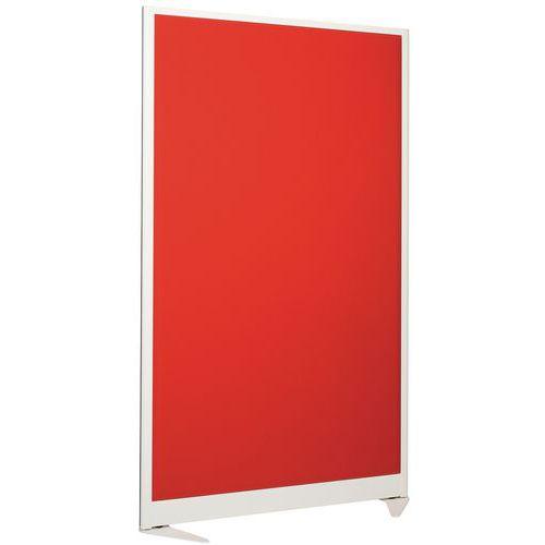 Geluidswerende scheidingswand 170x100 cm - wit frame