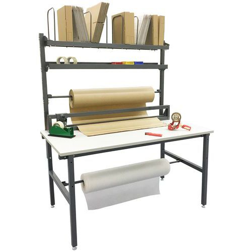 Table d'emballage complète - Manutan