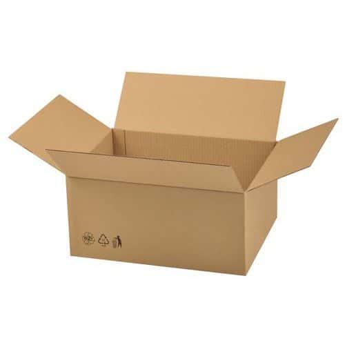 Caisse carton Éco - Double cannelure