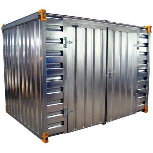 Opslagcontainer - Opvangvermogen 2280 L - Opening lange zijde
