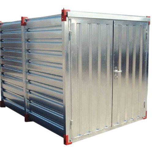 Opslagcontainer - Opvangvermogen 1900 L - Opening smalle zijde